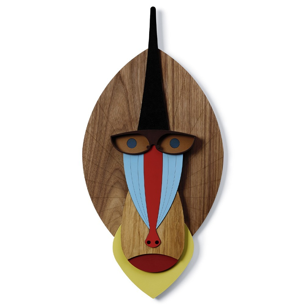 The Mandrill wall decoration Umasqu