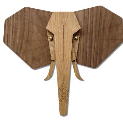 De olifant wanddecoratie Umasqu
