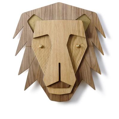 De leeuw wanddecoratie Umasqu
