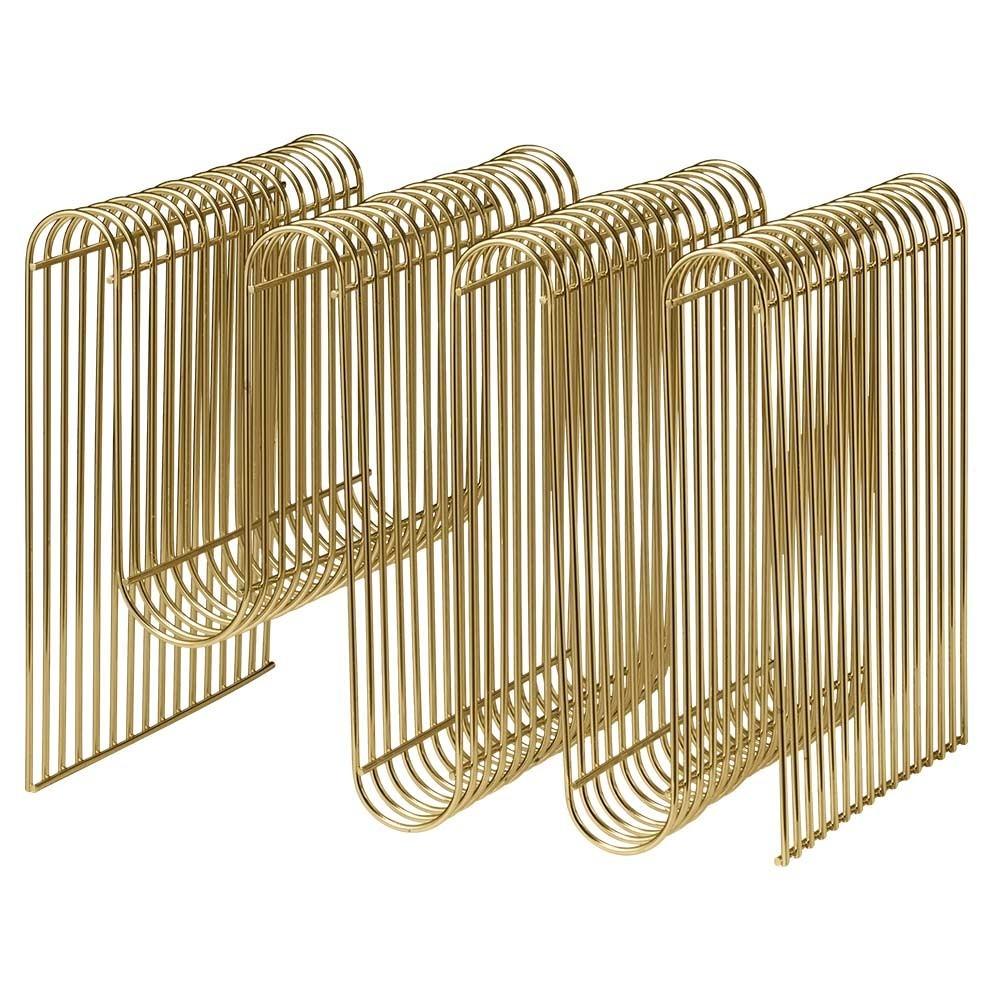Curva tijdschriftenrek goud AYTM