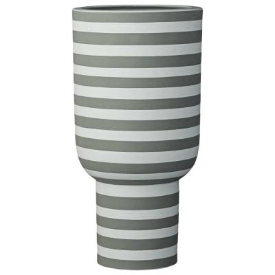 Vase Varia vert cendré/forêt AYTM