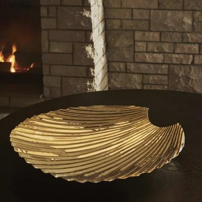 Piatto Gold Concha