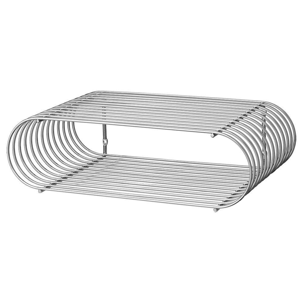 Curva shelf silver AYTM
