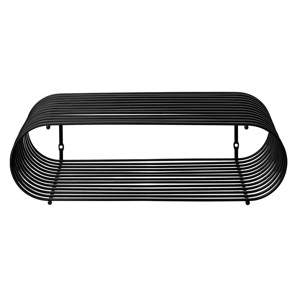 Curva shelf black AYTM