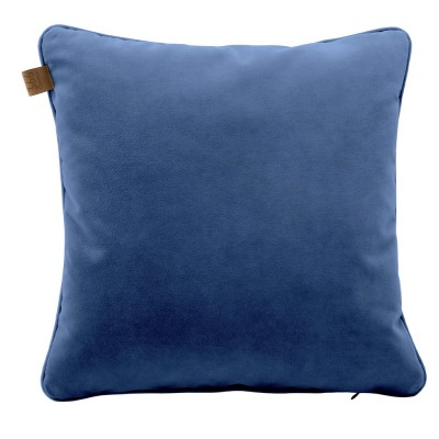 Indigo square cushion Velvet 366 Concept