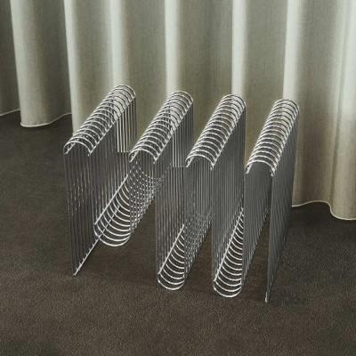 Curva magazine holder silver AYTM