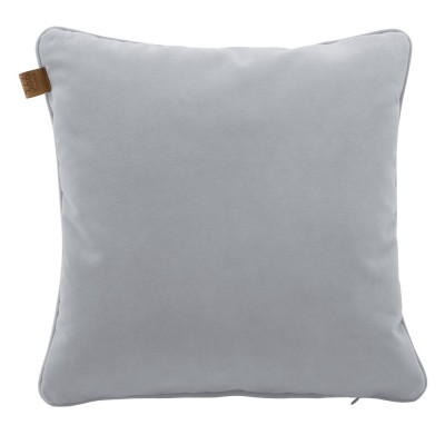 Grey square cushion Velvet 366 Concept