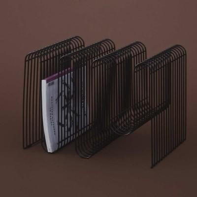 Curva magazine holder black AYTM