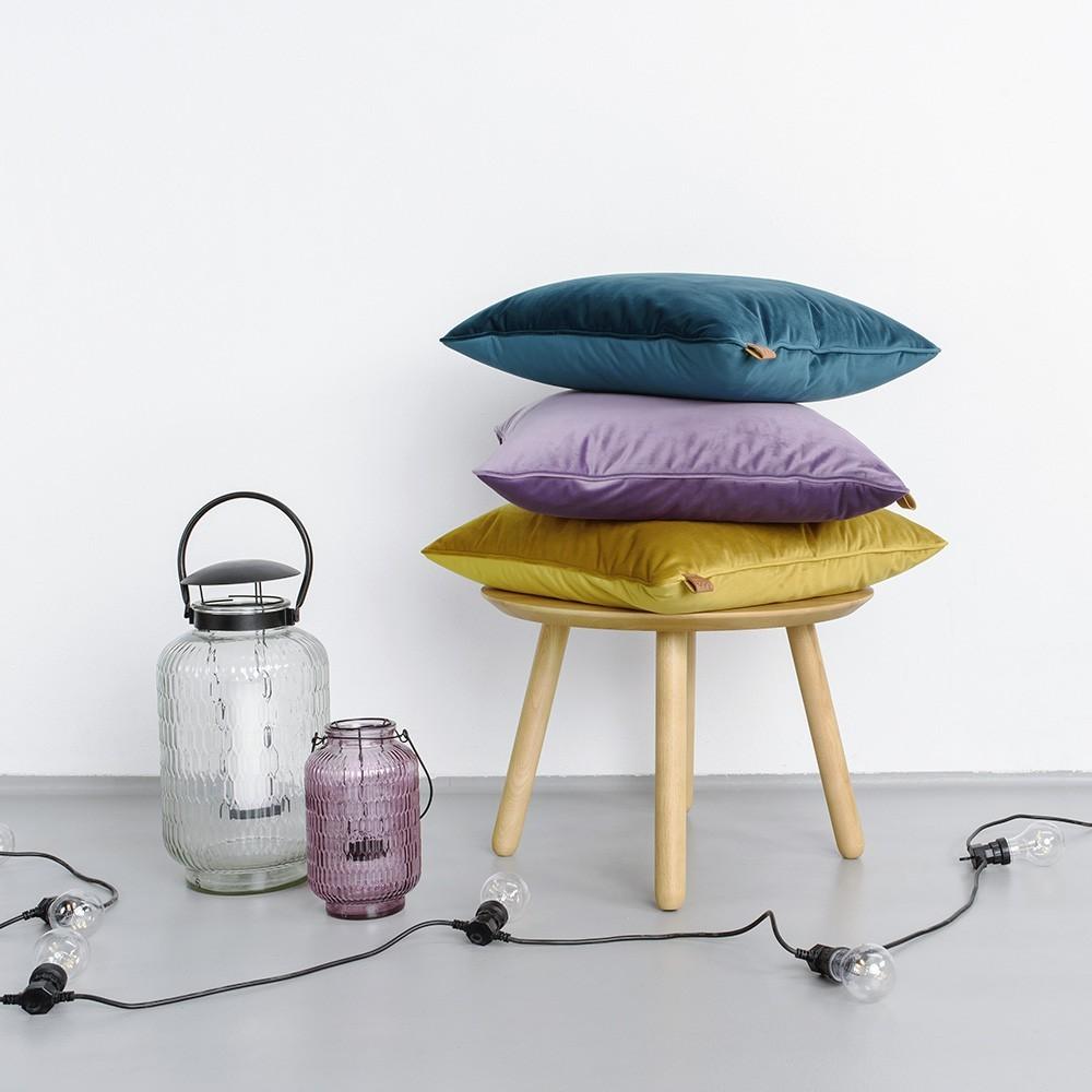Mint square cushion Velvet 366 Concept