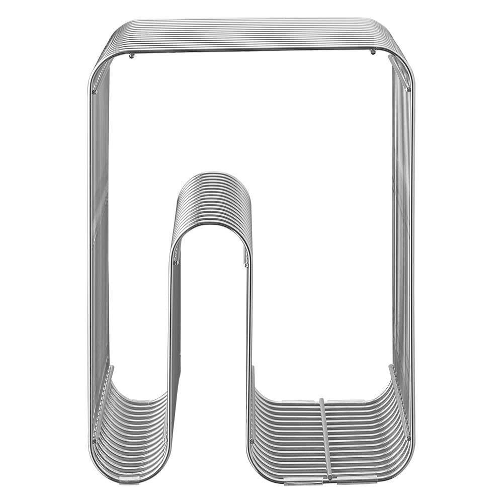 Curva stool silver AYTM
