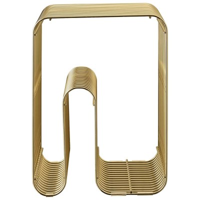 Curva stool gold AYTM