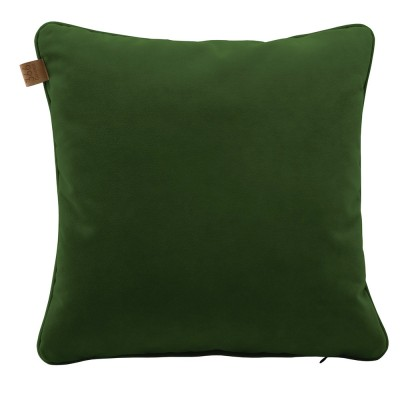 Green square cushion Velvet 366 Concept