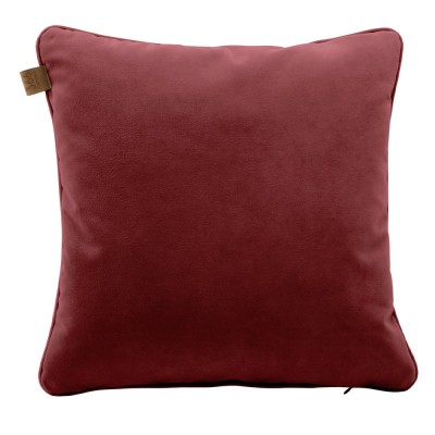 Merlot square cushion Velvet 366 Concept