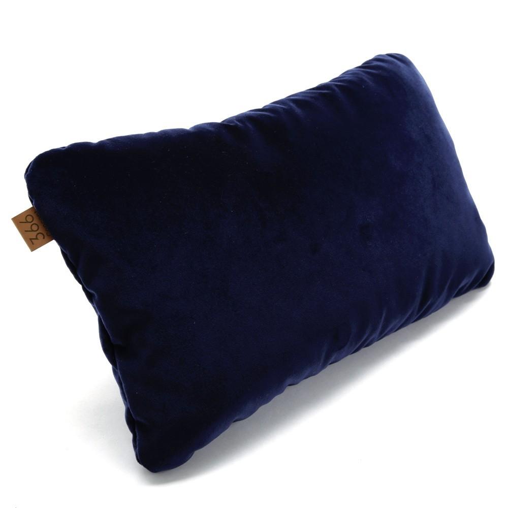 Indigo rectangle cushion Velvet 366 Concept