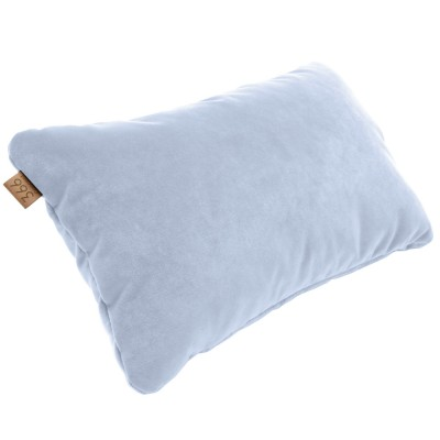 Sky blue rectangle cushion Velvet 366 Concept