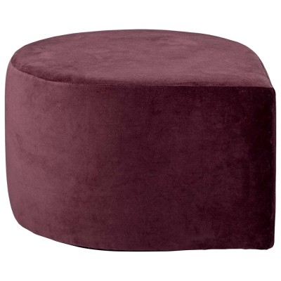 Stilla pouffe bordeaux AYTM