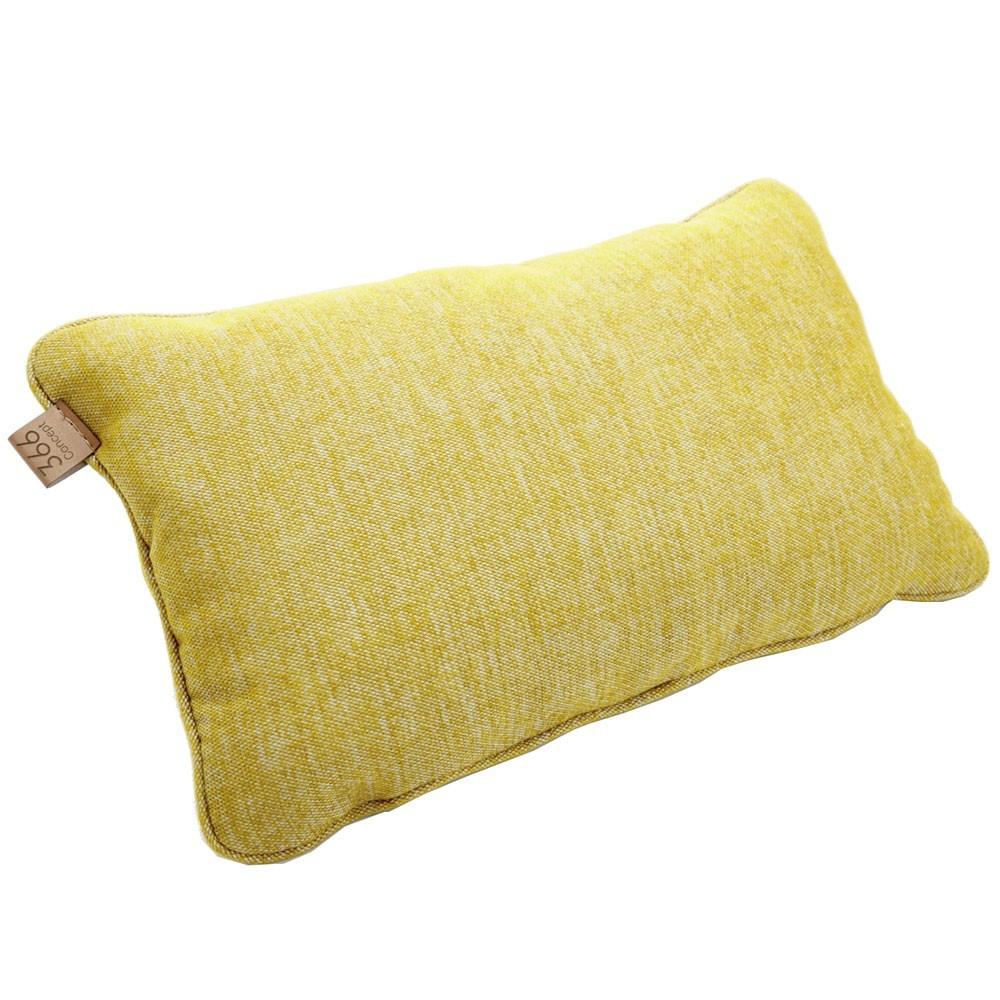 Coussin rectangle Loft moutarde 366 Concept
