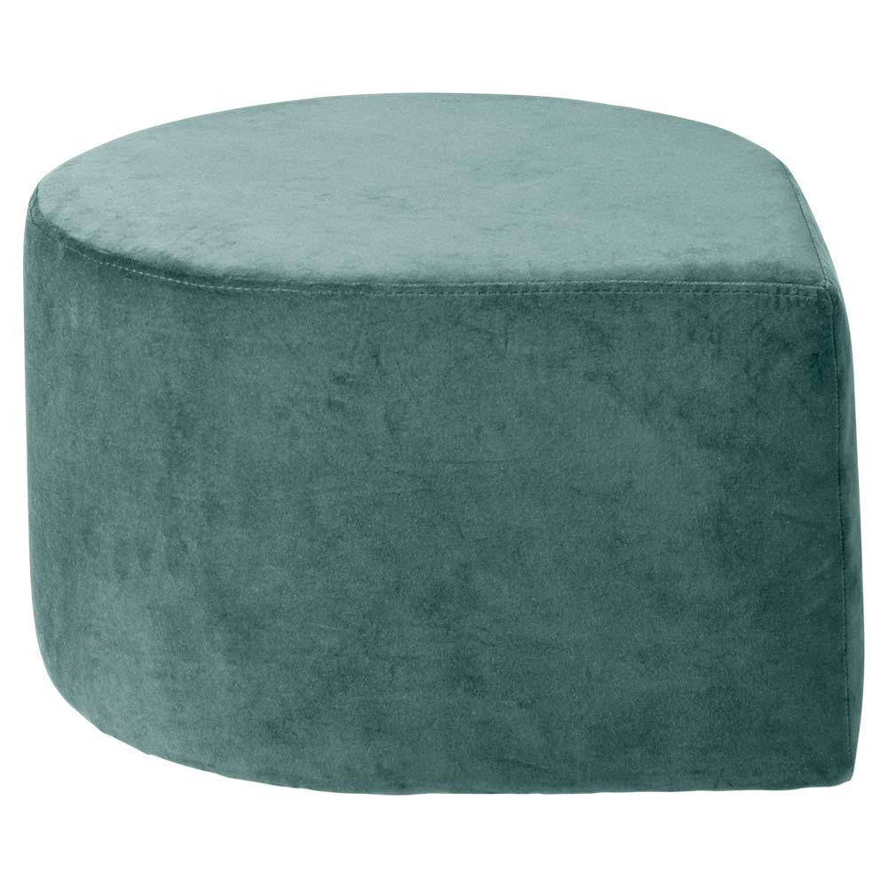Stilla pouffe dusty green AYTM