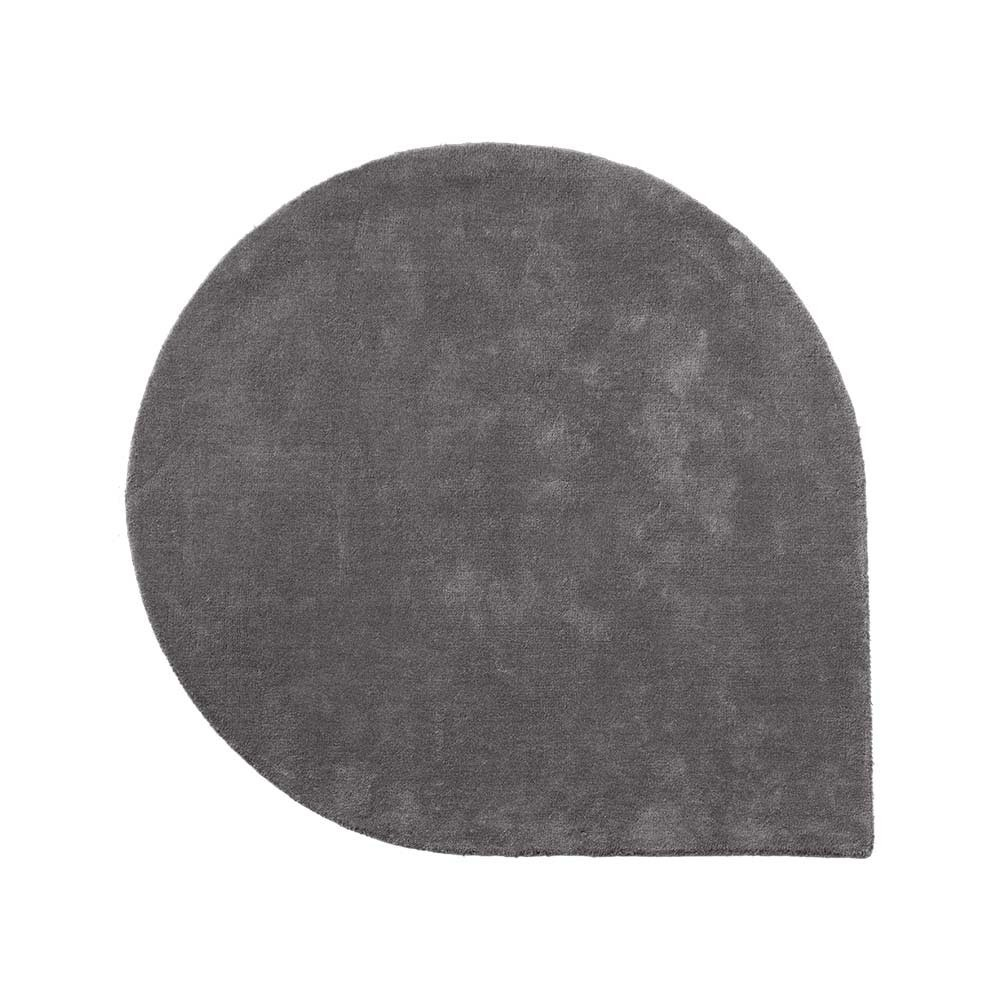 Stilla rug dark grey S AYTM