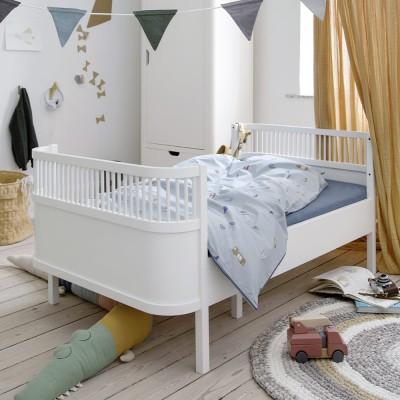 Sebra bed junior white