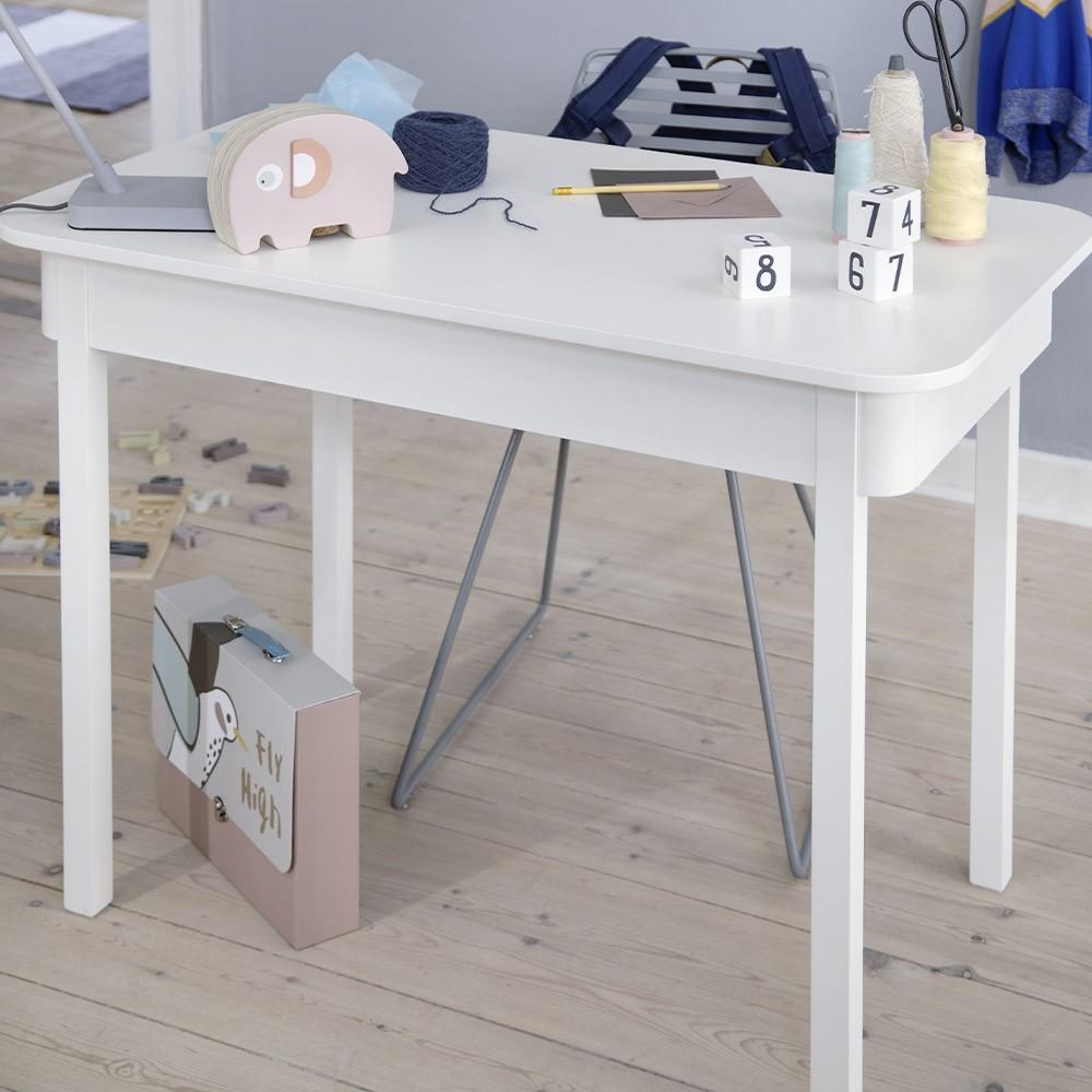 Sebra desk white Sebra
