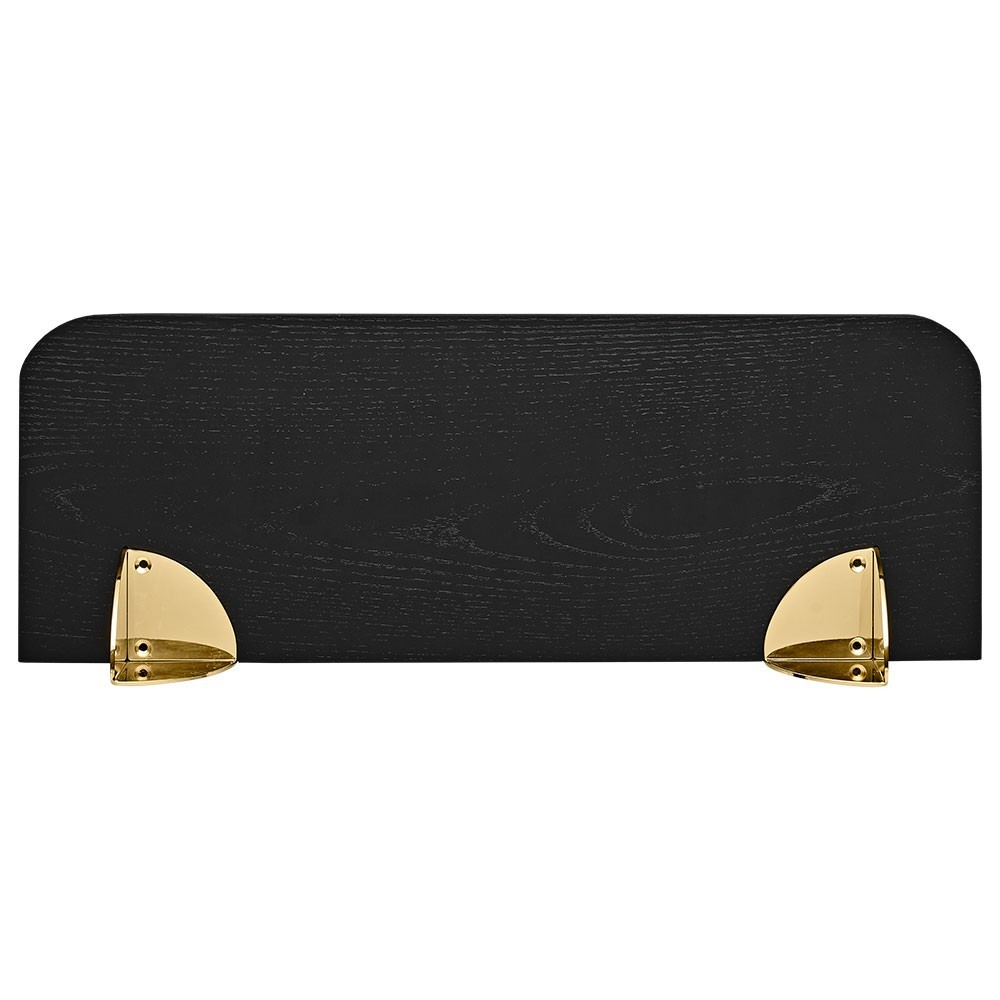 Aedes shelf black & gold 50 cm AYTM