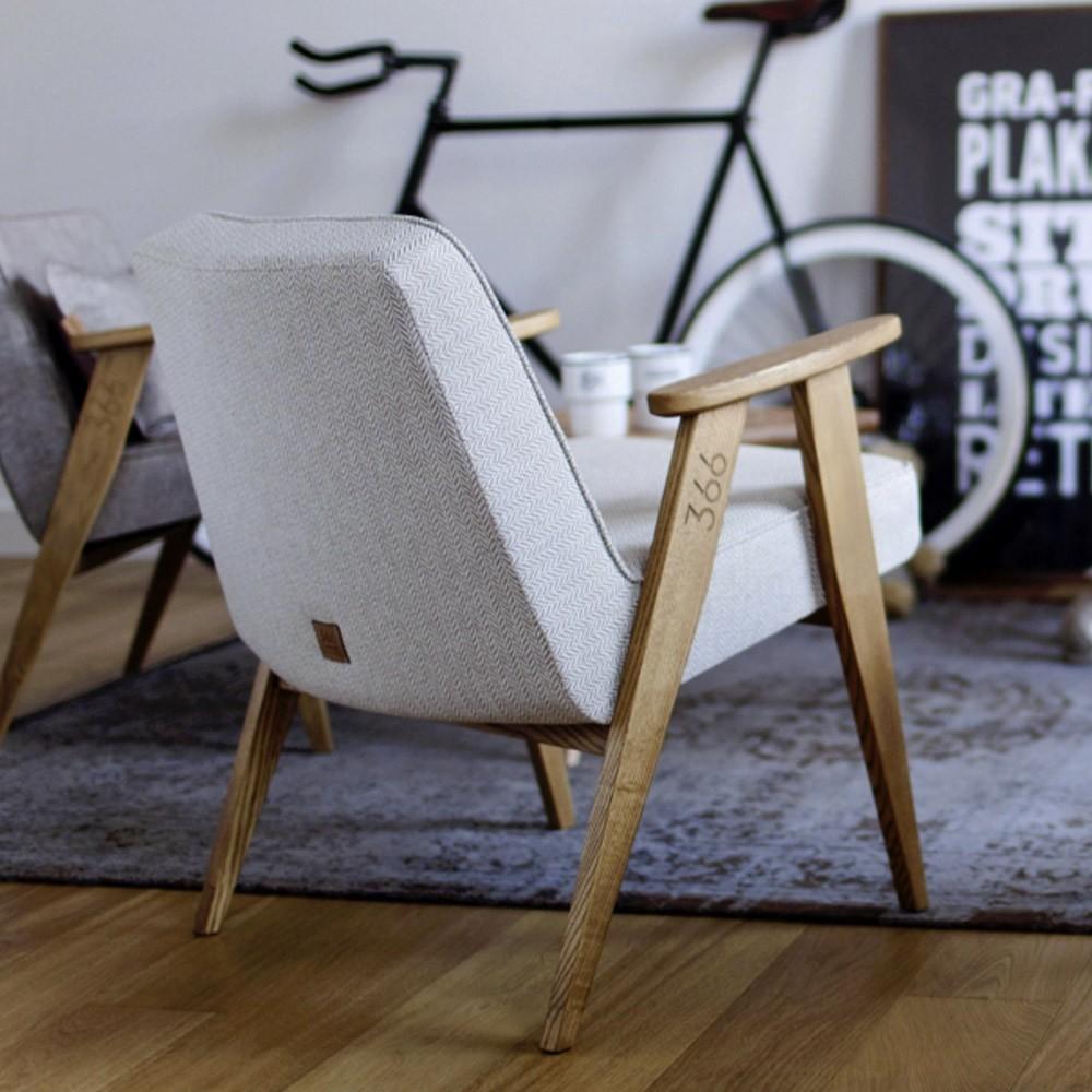 366 Wool armchair bottle green 366 Concept