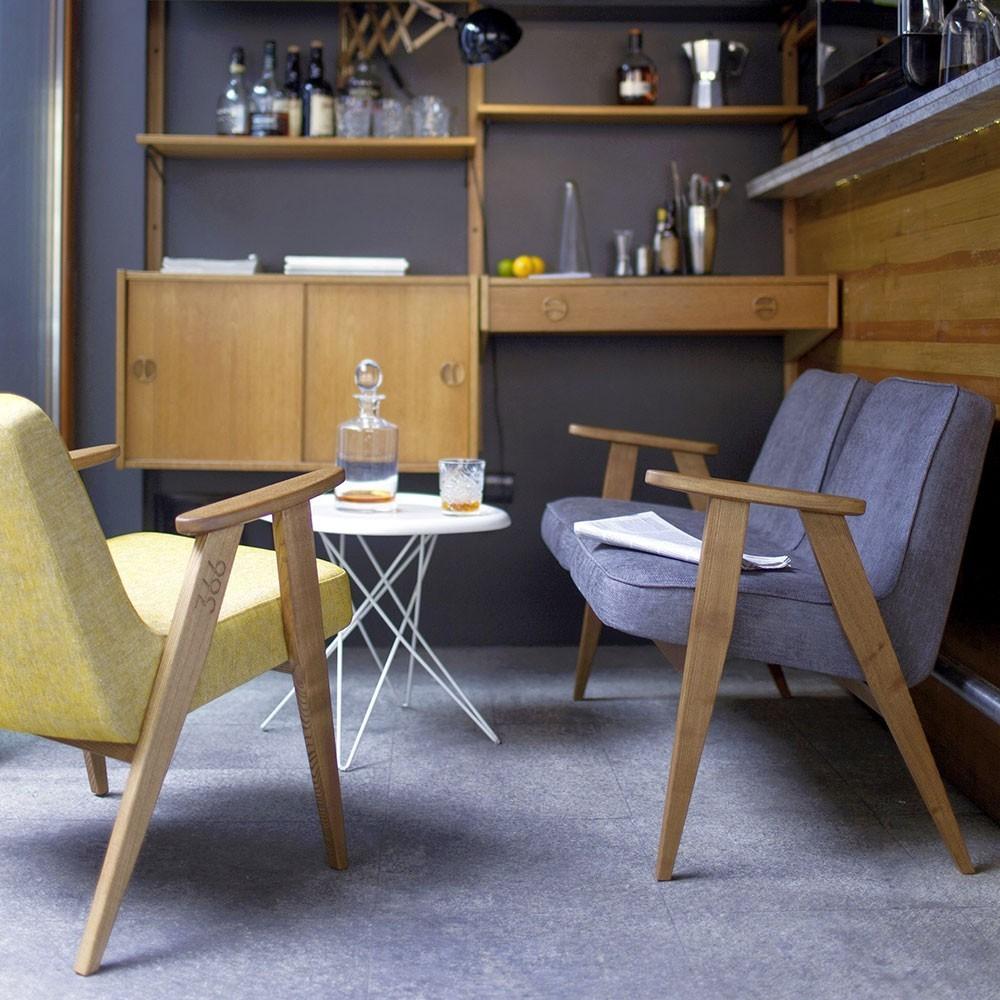 366 Loft armchair mandarin 366 Concept