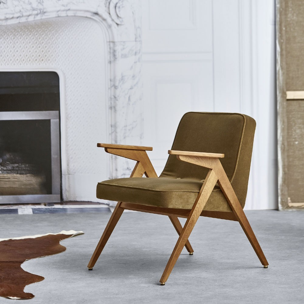 Bunny armchair Velvet mint 366 Concept