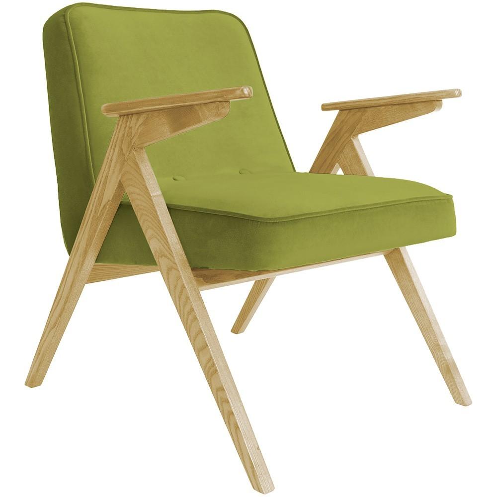 Bunny armchair Velvet olive 366 Concept