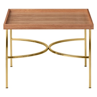 Unity table oak & gold AYTM