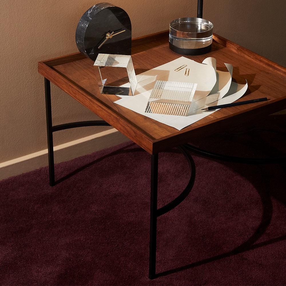 Unity table walnut & gold AYTM
