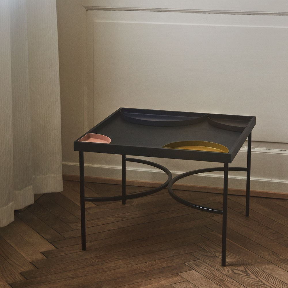 Unity table black & gold AYTM