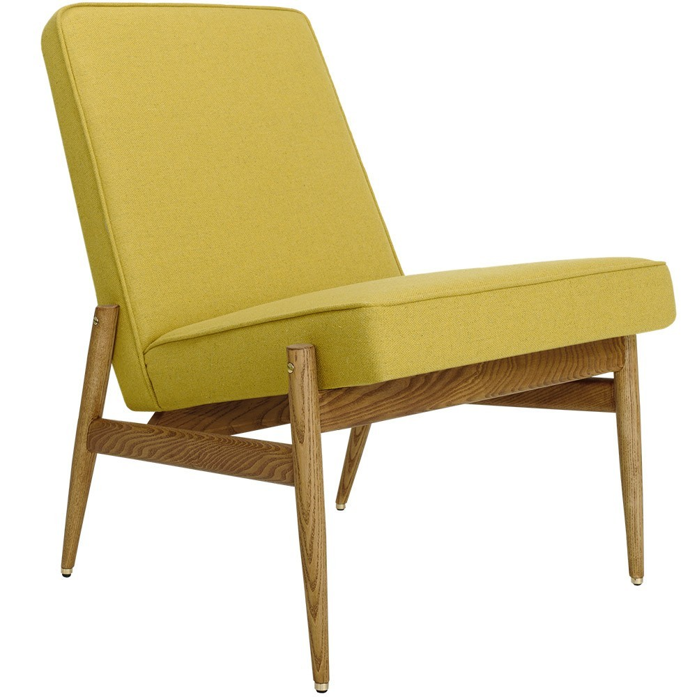 Fox Club Chair wool mustard 366 Concept