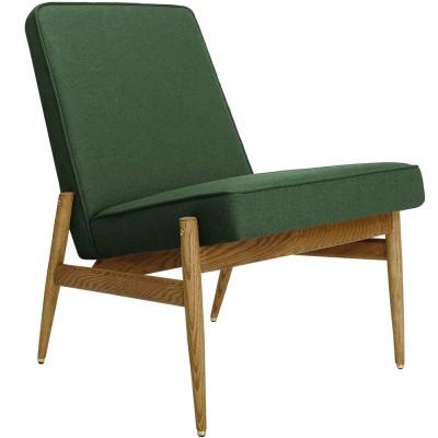 Club Fox fauteuil flessengroen wol 366 Concept
