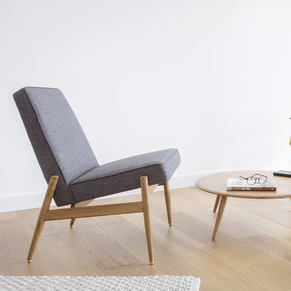 Fox Club Chair Loft grey 366 Concept