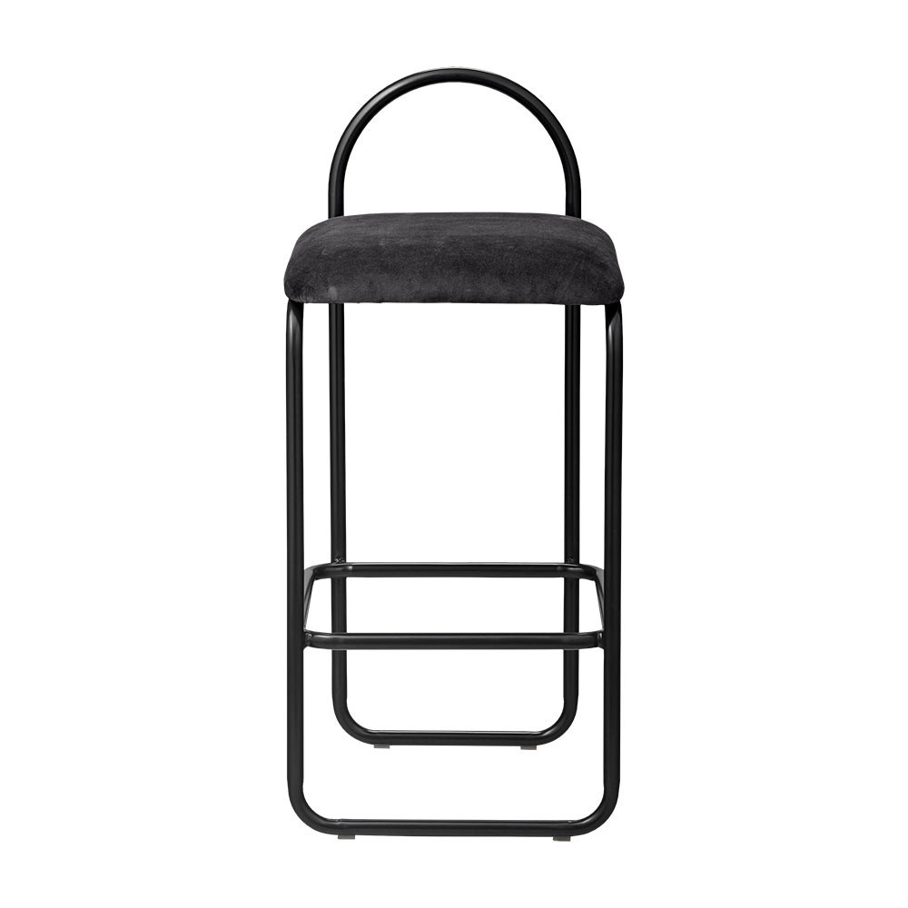 Angui bar chair anthracite 82 cm AYTM