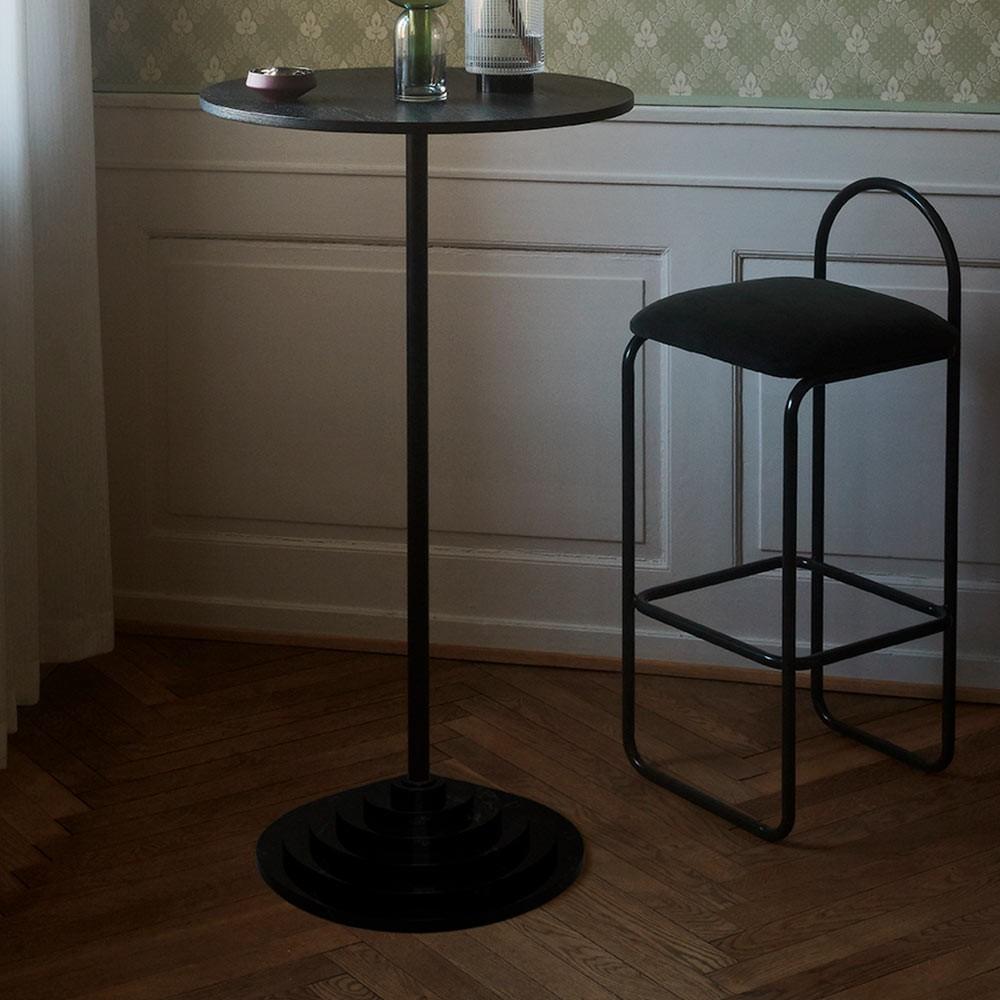 Chaise de bar Angui anthracite 92 cm AYTM