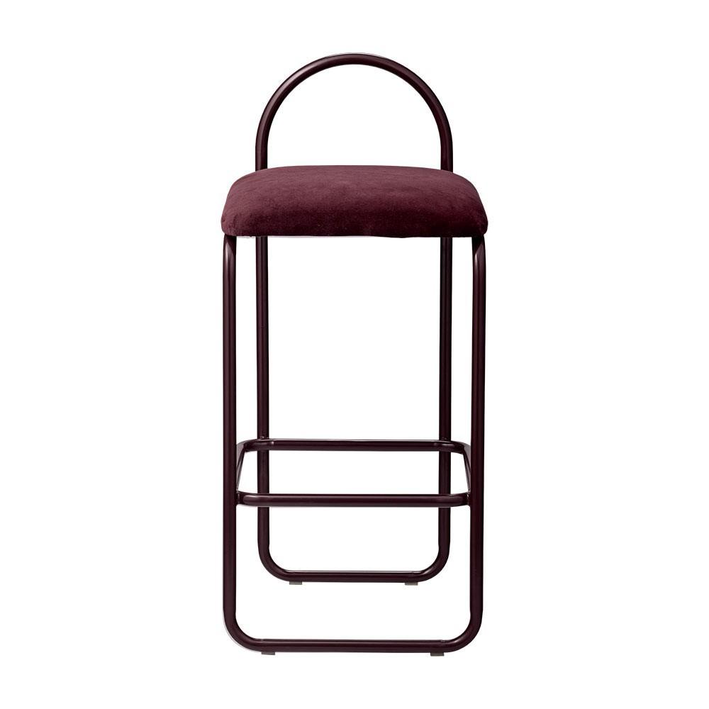 Angui bar chair bordeaux 82 cm AYTM