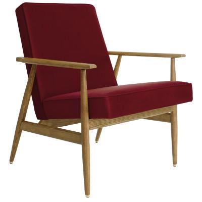 Fox armchair Velvet merlot 366 Concept