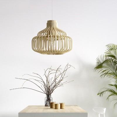 Eindeloze hanglamp naturel
