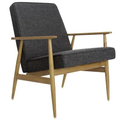 Fox Chair wool grey & black 366 Concept