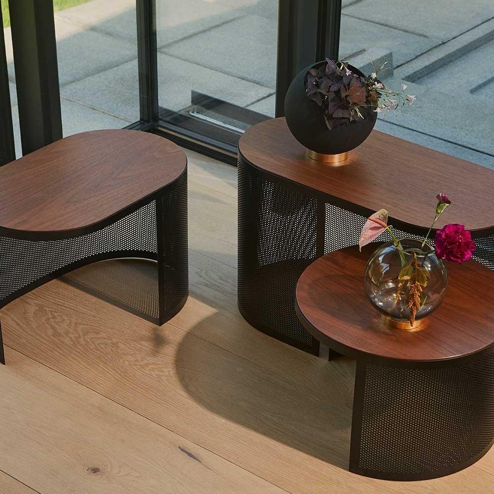 Pausillus coffee table walnut M AYTM