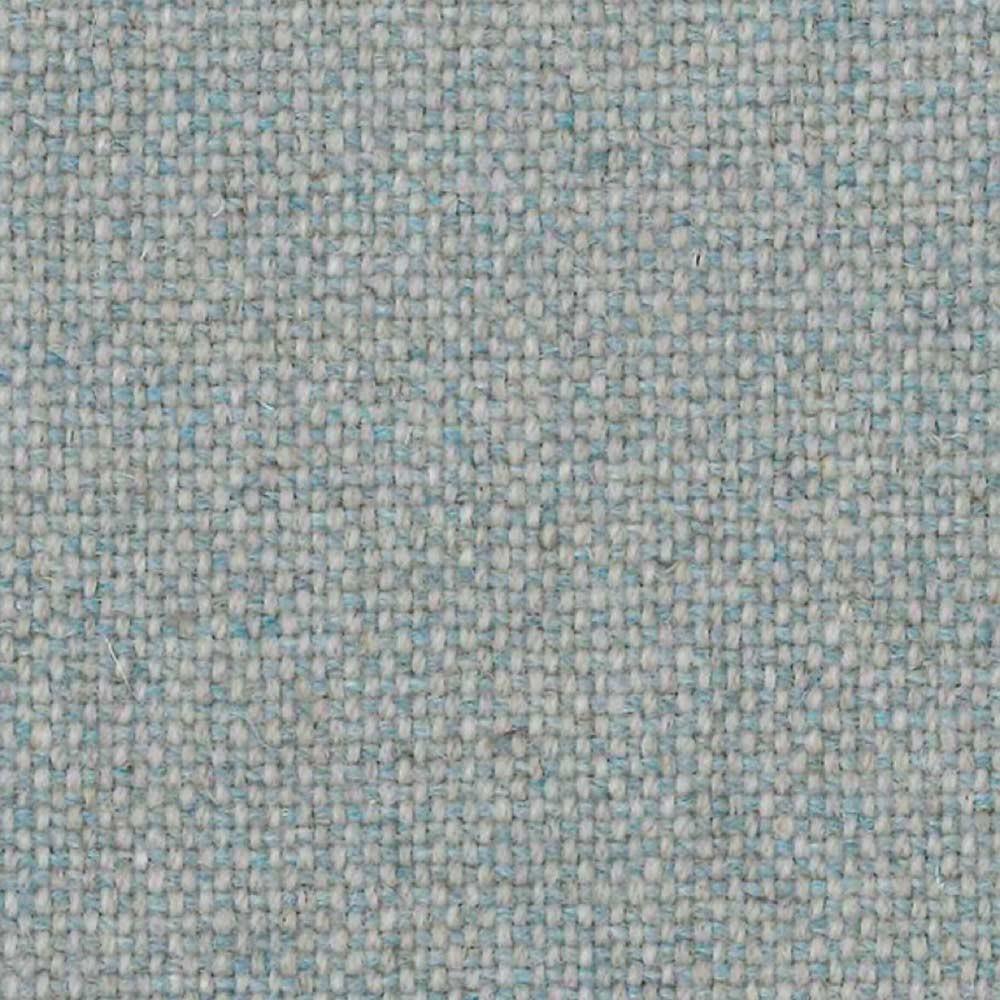 Fox footrest Wool white & blue 366 Concept