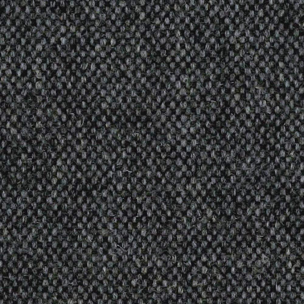 Fox voetenbank zwart & grijze wol 366 Concept