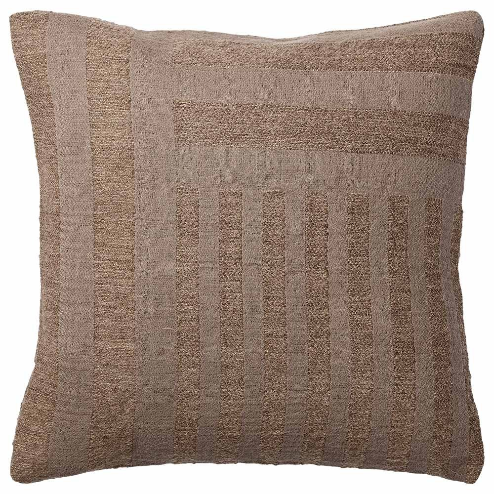 Coussin Contra taupe AYTM