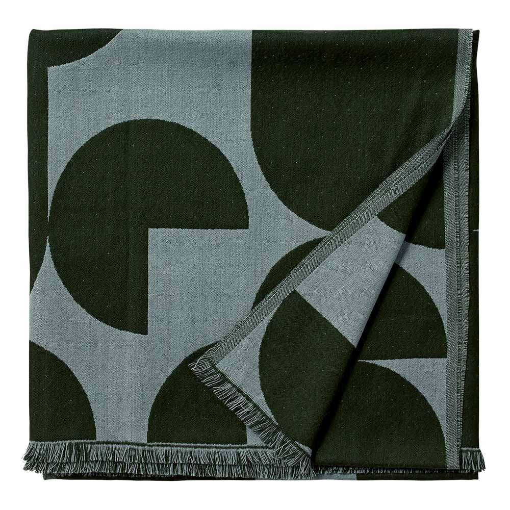 Forma throw forest & pale mint AYTM