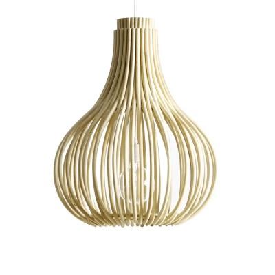 Bulb hanglamp naturel