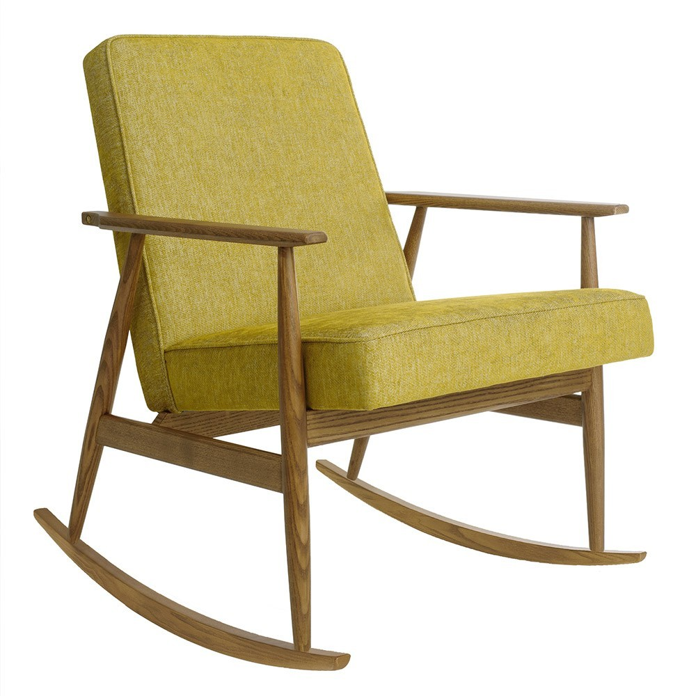 Fox rocking chair Loft mustard 366 Concept