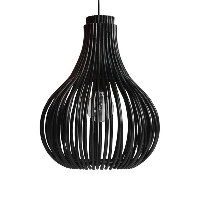 Bulb hanglamp zwart